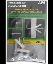 Alligator AF6 tüübel nurgakonksuga, 6 mm, 5 tk