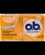 O.B. Pro Comfort Mini tampoonid 16 tk