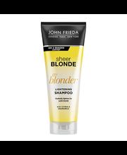 Shampoon tooni heledamaks muutev blondidele 250ml