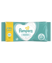Pampers Sensitive niisked salvrätikud 80 tk