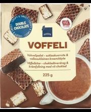 Vahvlitükid šokolaadimaitselised, 225 g
