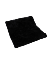 Vaip Fluffy 70 x 150  cm, must, 100 % polüester, kaal 3000 gsm