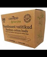 Vatitikud Bambus Eco-line 300 tk