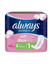 Always Sensitive hügieeniside 14 tk