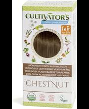 Taimne juuksevärv Chestnut 100 g