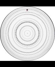 Taldrik Kastehelmi 31,5 cm, hall klaas