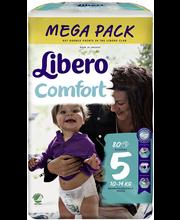 Libero teipmähkmed Comfort 5 Mega Pack, 10-14 kg, 80 tk