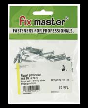 Fixmaster Flygel puurkruvi ZN PH2, 4,2 x 25, 20 tk