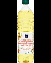 Rapsi- ja oliiviõli segu 1 l