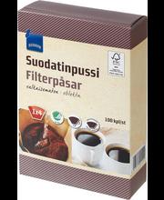 Kohvifilter 1 X 4 100 tk beez