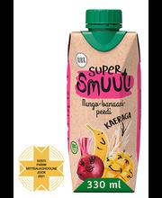 Aura supersmuuti mango-banaani-peedi 330 ml
