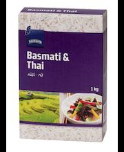 Basmati ja jasmiini riis 1 kg