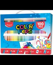 Joonistuskomplekt ColorPeps 100tk