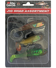 Peibutised Jig Shad Assortment
