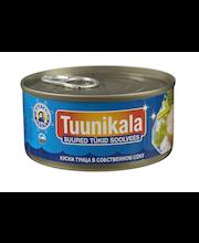 Tuunikala suured tükid soolvees 130 g