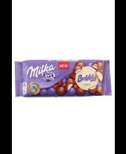 Milka Bubbly piima- ja valge šokolaadisegu 95 g