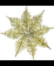 Kuuseladva täht 22 cm, kuldne