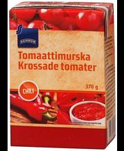 Purustatud tomatid tšilliga 370 g