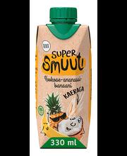 Aura supersmuuti kookos-ananassi-banaani 330 ml