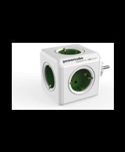 Allocacoc PowerCube Original harupistik, roheline