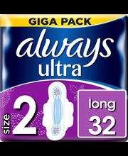 Always Ultra Long hügieeniside 32 tk