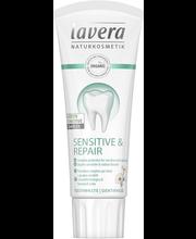 Hambapasta Sensitive 75 ml Sensitive & Repair Green Sensitive...