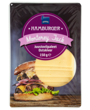 Burgeriviilud Monterey Jack, 150 g