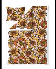 Voodipesukomplekt Fidoris 150x210 cm, oranz