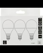 LED-lamp 6W E14, CMI 3000K 470LM, 3 tk