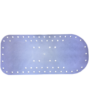 Libisemisvastane matt 74 x 35 cm, sinine