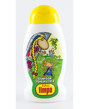 Shampoon 300 ml tüdrukutele limpa