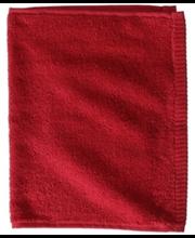 Froteerätik Minea 30x50cm punane, 100 % puuvill