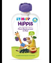 Hipp Hippis pirni-ploomi-mustasõstrapüree 100 g, öko, alates 6-elukuust