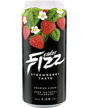 Fizz Strawberry Siider 4,5% 0,5L