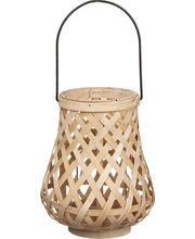 Bambuslatern sangaga 22 cm hele