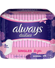 Always Singles Normal pesukaitse 20 tk