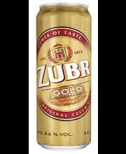Zubr gold õlu 4.6% 500ml