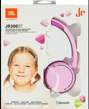 JBL JR300 sangaga juhtmeta Bluetooth-kuularid lastele, roosad