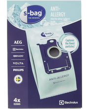 Tolmukott E206S S-Bag Anti Allergy 4 tk