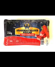 Krabimaitselised pulgad 250 g