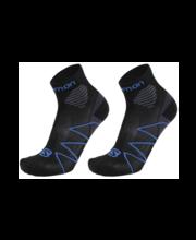 Meeste jooksusokid 2-paari 18R2318, must/sinine 42-44