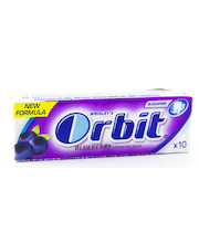 Orbit Blueberry närimiskummid 14 g