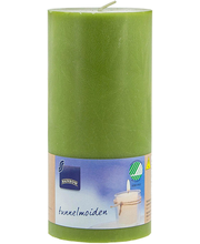 Lauaküünal 70x150 mm, roheline steariin