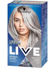 Juuksevärv Live Color U71 Metallic Silver