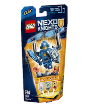 Lego Nexo Knights tegelane Ultimate Clay 70330