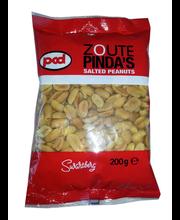 PCD soolatud maapähklid 200 g