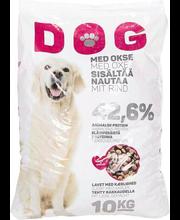 Dog täissööt veiselihaga, 10 kg