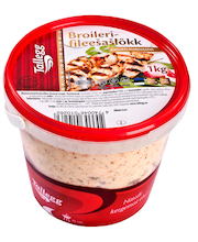 Broilerifileešašlõkk jogurtimarinaadis 1 kg