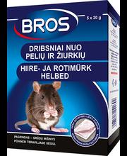 Bros hiire- ja rotimürk helbed 100 g