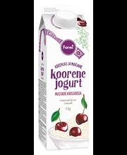 Koorene kirsijogurt, 1 kg